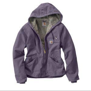 Carhartt sandstone Sierra jacket sherpa S